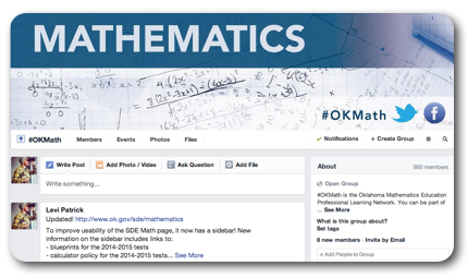 OKMath Facebook Page